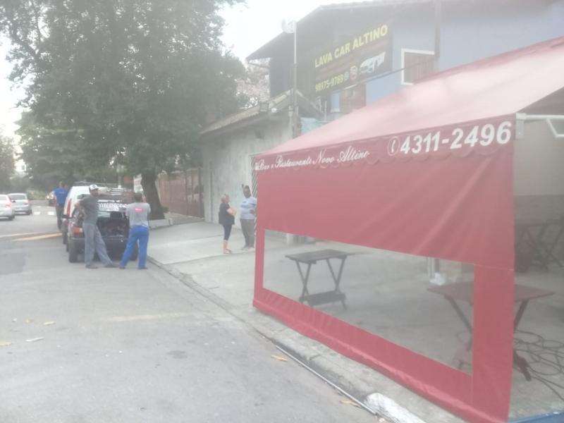 Cortina de Lona para área Externa Valor Jardim Roberto - Cortina Lona Rolô