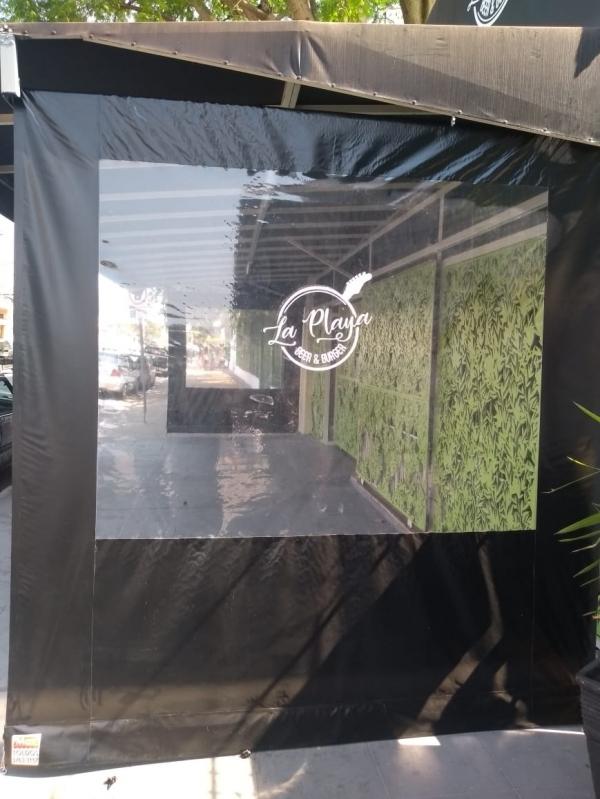 Cortina Double Vision Preta Parque Alexandre - Cortina Double Vision Branca