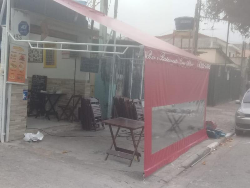 Loja de Cortina Lona Exterior Santo Amaro - Cortina de Lona para área Externa