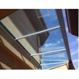 cobertura de policarbonato para escada Conjunto Metalúrgicos
