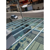 cobertura estacionamento garagem orçar Jardim Piratininga