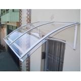 coberturas de policarbonato para escada Jaguaribe