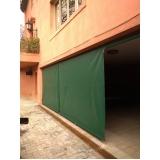 cortina de lona para área externa Conceição