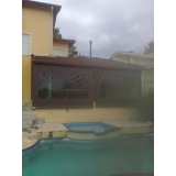cortina double vision marrom Residencial Dez