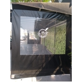 cortina double vision preta Jardim Platina