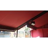 cortina lona para área externa Parelheiros