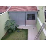 cortina rolo para sacada preço na Vila Menck