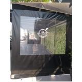cortina double vision preta
