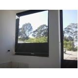 cortinas rolo de policarbonato Residencial Cinco