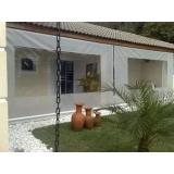 loja de cortina lona branca Atalaia