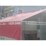 loja de cortina lona rolô Residencial Oito