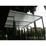 onde encontrar toldo de policarbonato para garagem em City Bussocaba