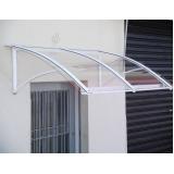quanto custa cobertura de policarbonato para escada na Vila Yara