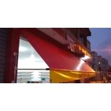 toldo de lona para garagem Jardim Veloso