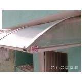 toldo policarbonato fume preço em Pirituba
