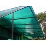 toldo de policarbonato para janela