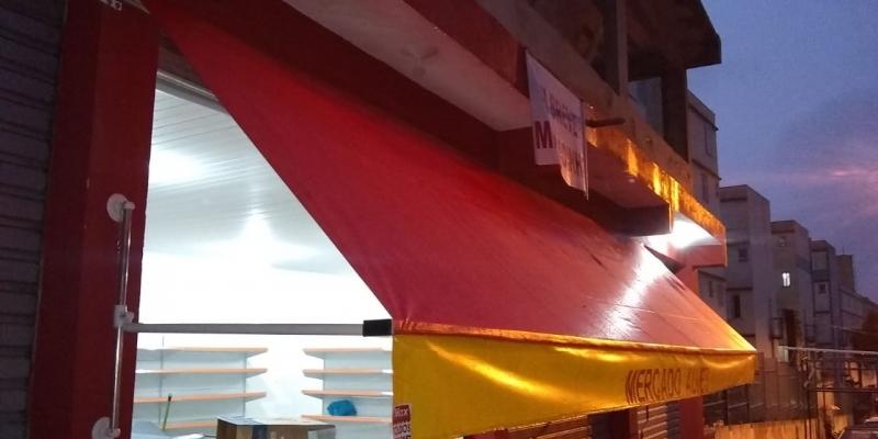 Toldo de Lona para Garagem Jardim Veloso - Toldo de Lona Transparente