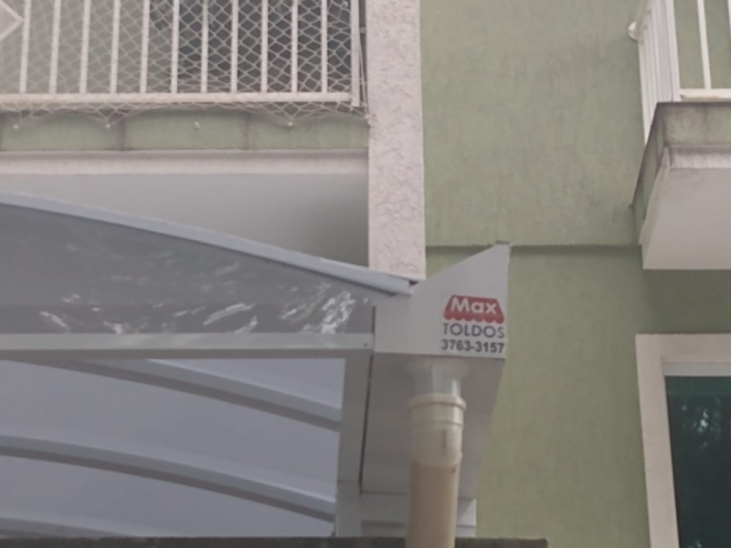 Toldo Lona Transparente Jardim Paulista - Toldo de Lona para Janela