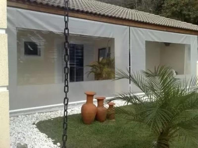 Venda de Cortina Lona para área Externa Jardim dos Camargos - Cortina de Lona para Janela